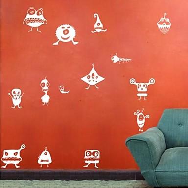 14Pcs Little Monster Wall Stickers Wall Decals Wall Murals