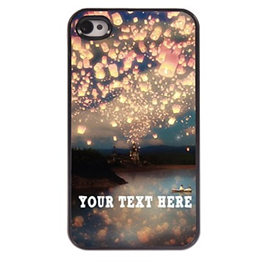 Buy Personalized Phone Case - Romance Design Metal iPhone 4/4S