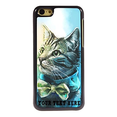 Buy Personalized Phone Case - Lovely Cat Design Metal iPhone 5C