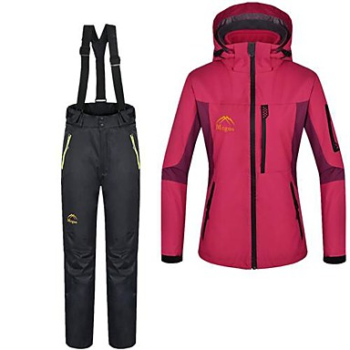 Buy Women's 3-in-1 Jackets / Woman's Jacket Winter Pants/Trousers/Overtrousers Clothing Sets/Suits Skiing Camping Hiking