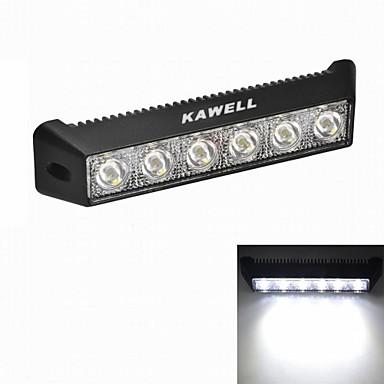 Buy KAWELL 18W 7.5 inch Round CREE LED ATV/boat/suv/truck/car/atvs light Road Waterproof Black Led Work Spot Light
