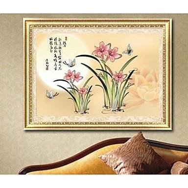 Diy diamant schilderkunst muur decor eigentijdse stijl van de muur decor set orchidee 2650143 - Eigentijdse muur ...