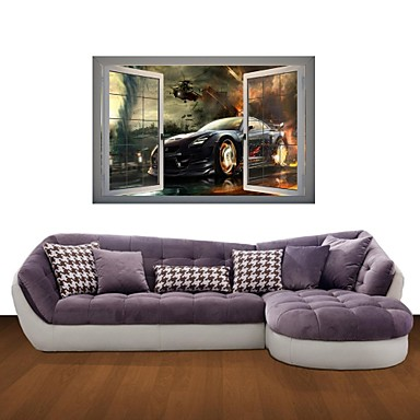 Buy 3D Wall Stickers Decals, Expensive Cars Decor Vinyl