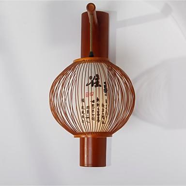 Rustic Led Wall Sconces : LED Wall Sconces , Rustic/Lodge E26/E27 Wood/Bamboo 2835451 2016 USD 122.99