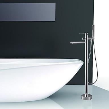 Contemporaneo montaggio a terra docetta inclusa colonna - Rubinetti per vasca da bagno ...