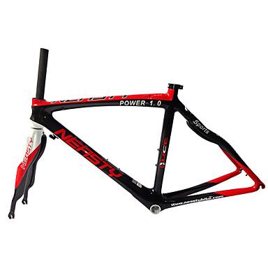 Buy RB-NT28+FK-NG28 Neasty Brand Red White700C Full Carbon Fiber Frame Fork 3K/12K Weave 50/52/56CM