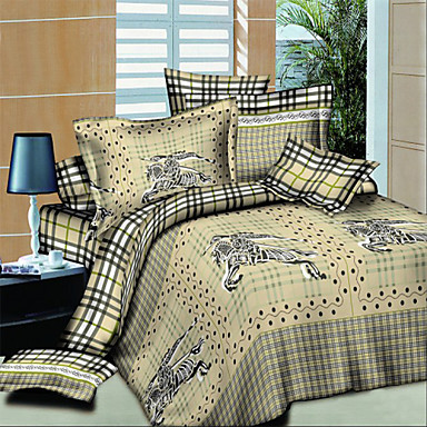 Shuian Comfortable Bedding Set Duvet Cover Colorfull 3D