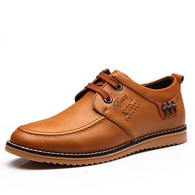 Zapatos de hombre oxfords exterior oficina y trabajo - Zapatos de trabajo ...