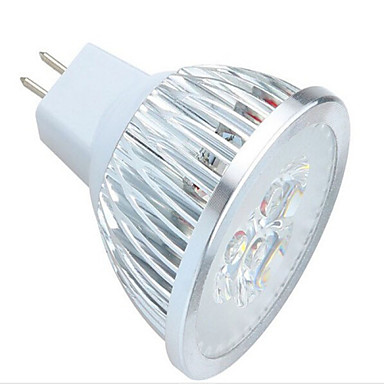 1 pcs 3 W 3LED X 350-600 LM 2800-3500/6000-6500 K Warm White/Cool White MR16 ...