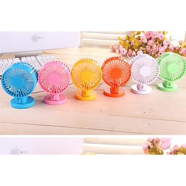 "4"" Mini Portable Stand Handless USB Desktop Fan Cooler for Note/Indoor"