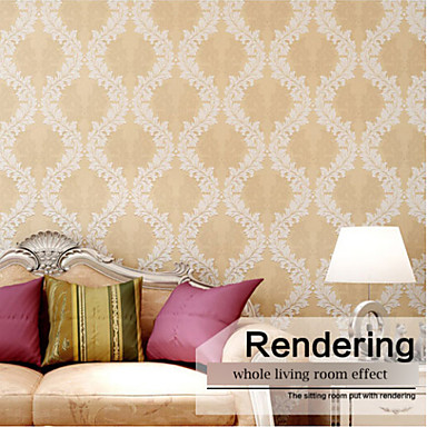 Papel tapiz contempor neo art deco damasco simples dise os for Disenos de pintura en paredes