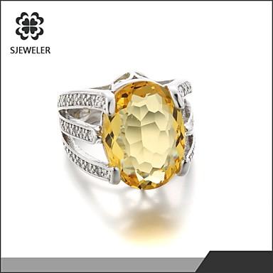 bagues affirm es cristal mode zircon platin forme de cercle forme g om trique bijoux pour. Black Bedroom Furniture Sets. Home Design Ideas
