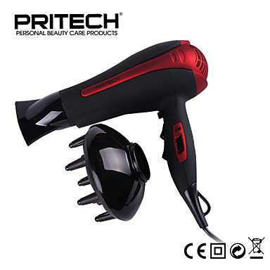 PRITECH Brand Best Electric Hair Dryer Big Power 2000W Hair Styling Tools For