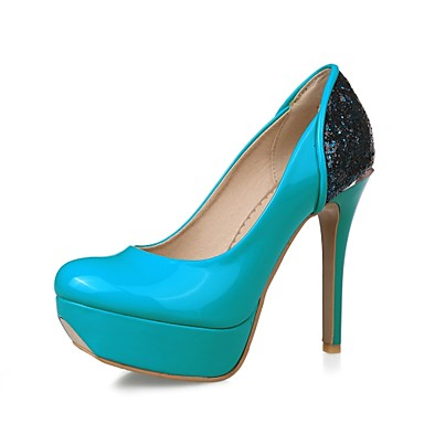 Zapatos de mujer tac n stiletto punta redonda for Zapatos de trabajo blancos