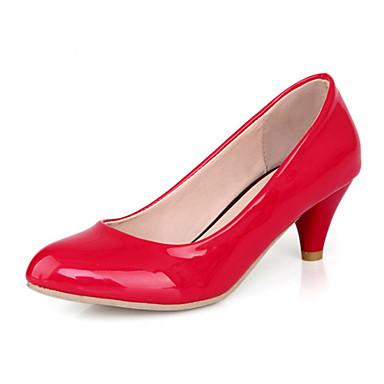 Buy Women's Shoes Synthetic Kitten Heel Heels/Basic Pump Pumps/Heels Office & Career/Dress/Casual