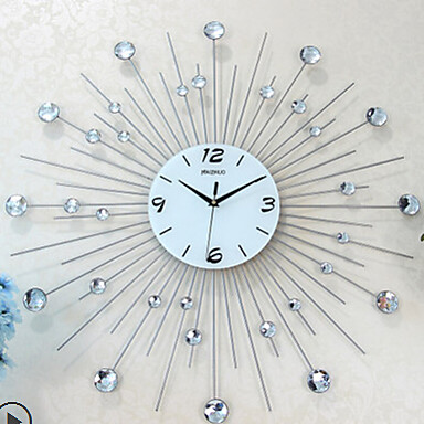 genuine iron wall clock mantianxing metal craft clock bedroom fashion wall clock 3622050 2016. Black Bedroom Furniture Sets. Home Design Ideas
