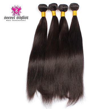 cheap 3pcs lot 5a unprocessed brazilian hair straight