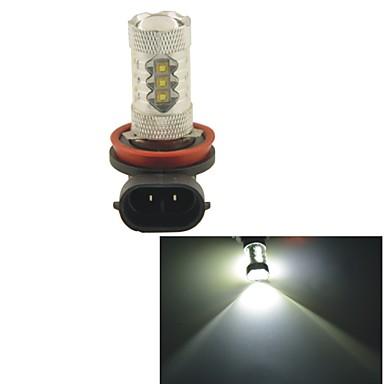 Buy Carking™ H8/H11 80W 16SMD 2800ML 6000K White Light LED Fog Head Lamp Driving Bulb(DC 12V)