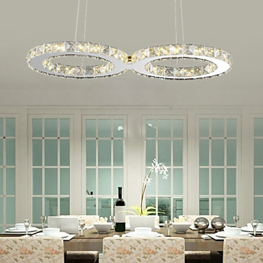 20 w pendant light modern contemporary chrome feature for Dining room lighting uk