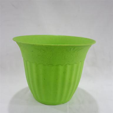 Shengerda 6 8 color rodada vaso de pl stico seis vasos - Flores de plastico ...