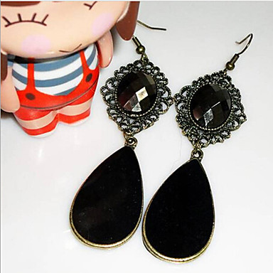 """""""New Arrival Hot Selling High Quality Gem Water Drop Earrings"""""""