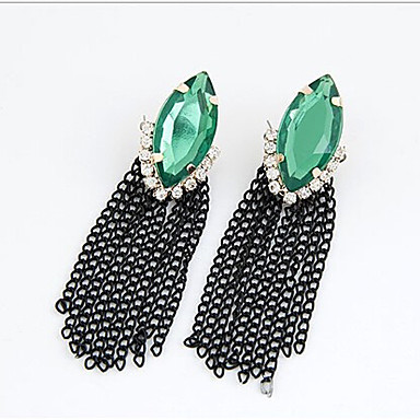 """""""New Arrival Hot Selling High Quality Fashion Crystal Tassel Earrings"""""""