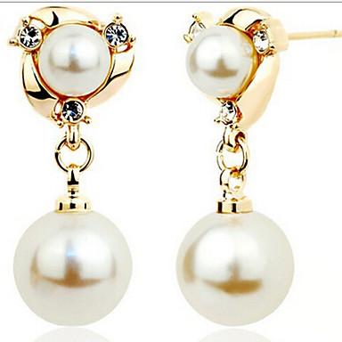 """New Arrival Hot Selling High Quality Fashional Rhinestone Pearl Earring..."