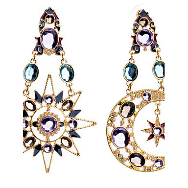 """""""New Arrival Hot Selling High Quality Fashional Sun Moon Earrings"""""""