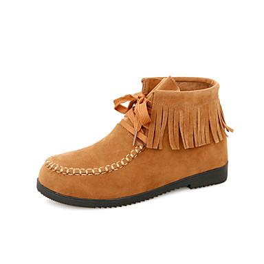 Zapatos de mujer tac n plano punta redonda botas - Zapatos de trabajo ...
