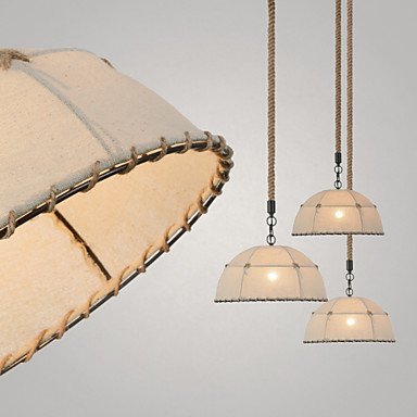(L)Half Round-shaped/1 Lights/Pendant Lamps/Vintage Style/Industry Style/Yell...