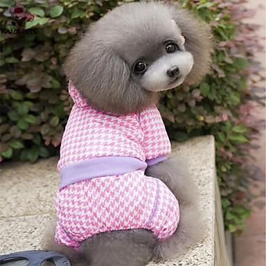 Buy Dog Coats / Hoodies Pants - XS S M L XL Winter Blue Pink Wedding Cosplay Cotton Polar Fleece