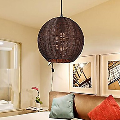 Modern contemporary lantern country globe metal for Dining room globe lighting