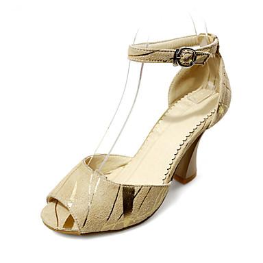 Chaussures gros talons rose - vintedfr