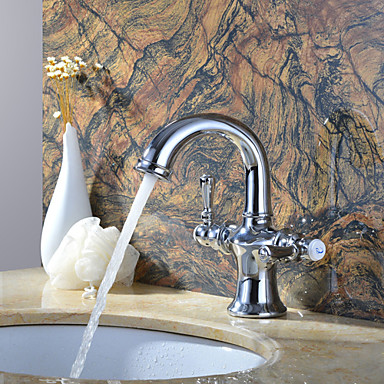 Bagno della maniglia del miscelatore del bacino rubinetto - Bagno caldo dopo mangiato ...