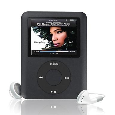 "MP3 4G/8G/16G 1.8"" LCD Media Video Game Movie Radio FM 3th Generation MP3 Player"