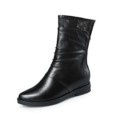 Zapatos de mujer tac n plano botas a la moda botas - Zapatos de trabajo ...