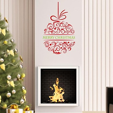 2015 new zooyoo xmas24 na merry christmas wall stickers for Christian decorations for home