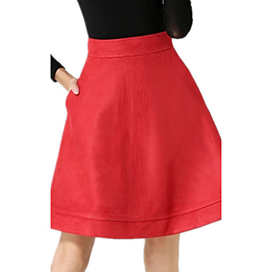 winter s vintage suede casual skirt both sides