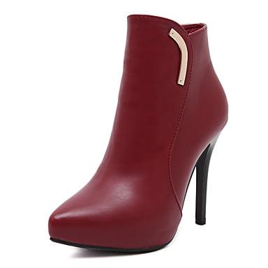 Zapatos de mujer tac n stiletto tacones comfort - Botas de trabajo ...