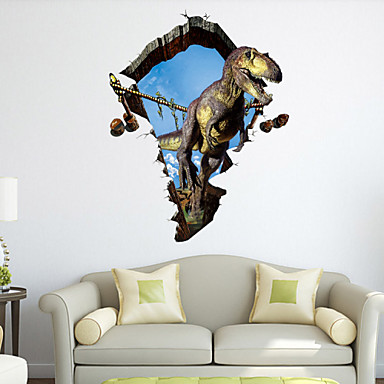 Animali fashion fantasia 3d adesivi murali adesivi for Adesivi parete 3d
