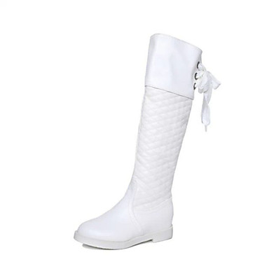 Gros chaussons blancs gros coq noir