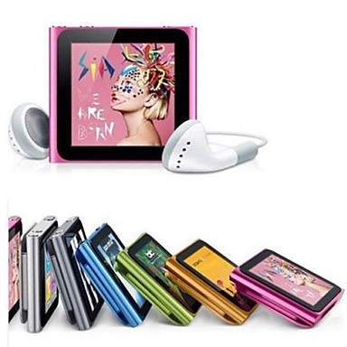 8GB/4GB Mp3 Mp4 6th Gen LCD Touch Screen FM Radio Player Slim Video Games Movie