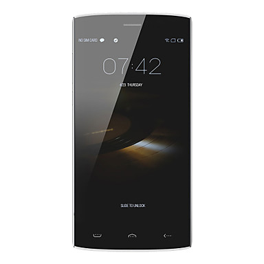 "HOMTOM® HT7 5.5"" Android 5.1 3G Smartphone Dual SIM Quad Core 8MP+2MP 1GB + 8GB Black / White"