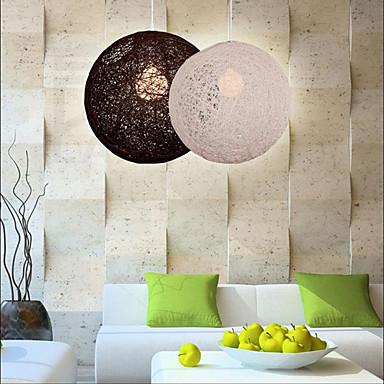 Buy E27 220V15*15CM 5-10㎡CreativeAmerican Country Creative Cany Art Color Droplight Spherical Shape Lamp Led Light