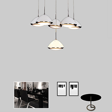 12w contemporain led m tal lampe suspendue salle de s jour salle manger cuisine de 4660346. Black Bedroom Furniture Sets. Home Design Ideas