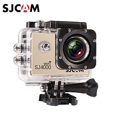 SJCAM SJ4000 WIFI Sports Camera 1.5 8MP / 2MP / 3MP / 5MP / 12MP 1920 x 1080 4x ±2EV CMOS 32 GB