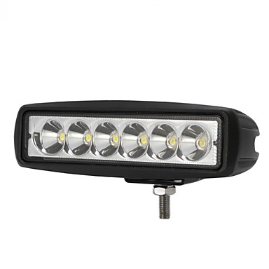 Buy 1800LM Mini 6 Inch 18W 12V CREE LED Spot Work Light Bar Car Worklight Lamp Boating /Hunting / Fishing Offroad