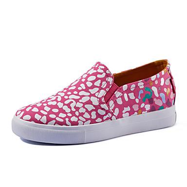 Zapatos de mujer tac n plano punta redonda sneakers - Zapateros de tela ...