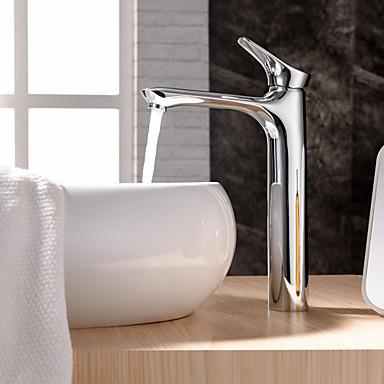 contemporain montage valve en c ramique mitigeur un trou with chrom robinet lavabo de 4811526. Black Bedroom Furniture Sets. Home Design Ideas