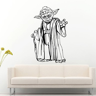 Star Wars Cartoon Characters Living Room Bedroom Kids Room Wall Stickers Removable Waterproof
